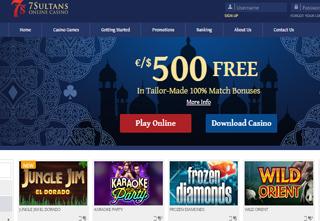 7 casino sultan download gioco slot machine gratis